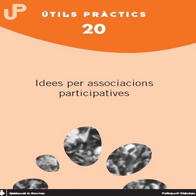 Idees per a associacions participatives