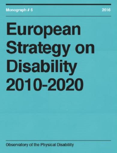 European Strategy on Disability 2010-2020