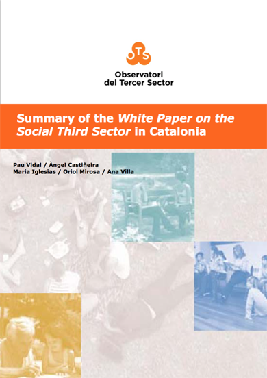 Summary of the White Paper on the Social Third Sector in Catalonia